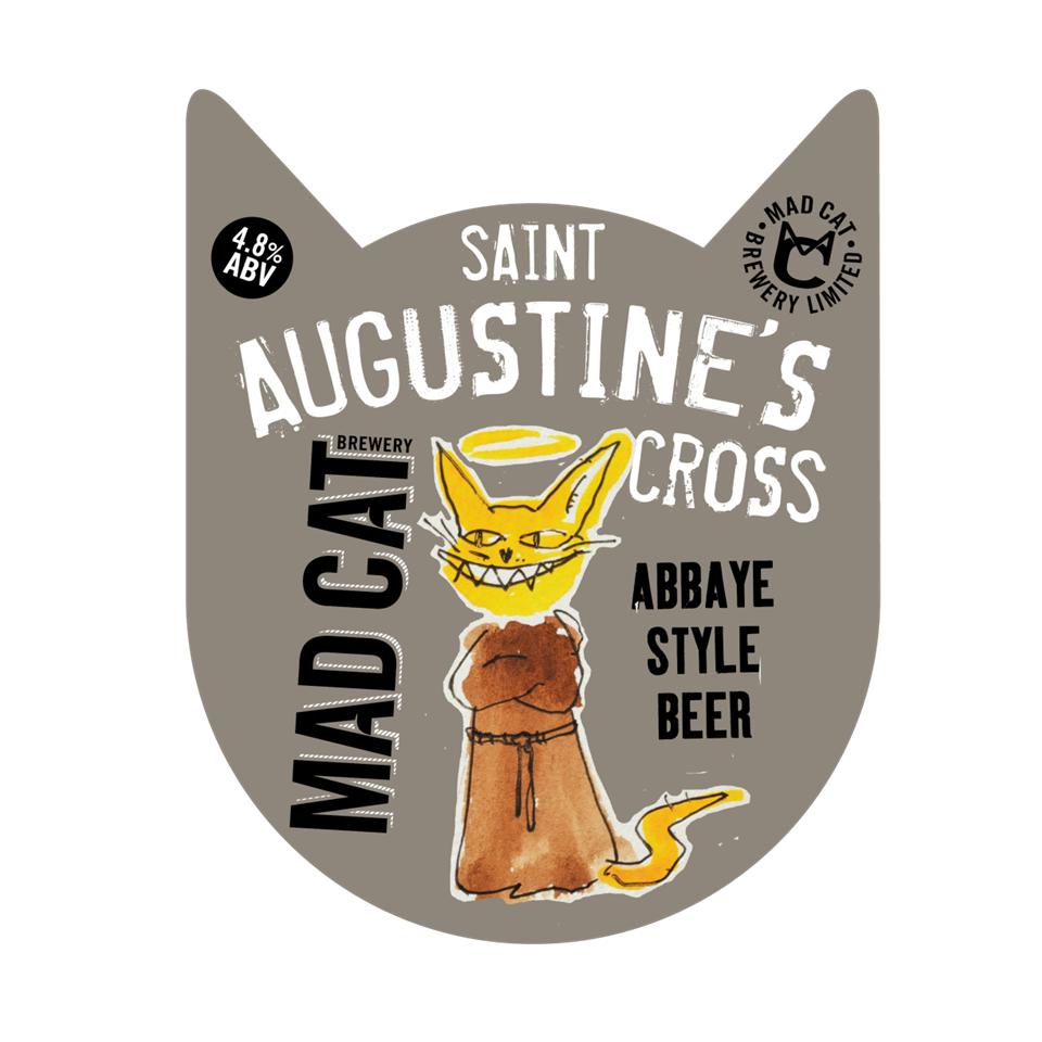 St Augustine's Cross pump clip
